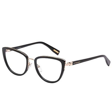Óculos de Grau Victor Hugo VH1273 0700/52 Preto
