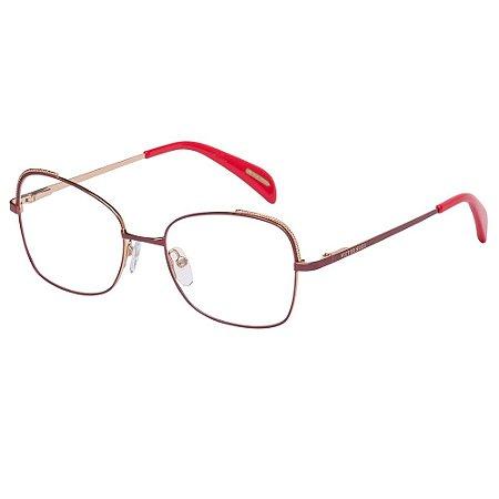 Óculos de Grau Victor Hugo VH1269 0H33/52 Vermelho