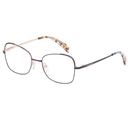 Óculos de Grau Victor Hugo VH1269 0A93/52 Azul
