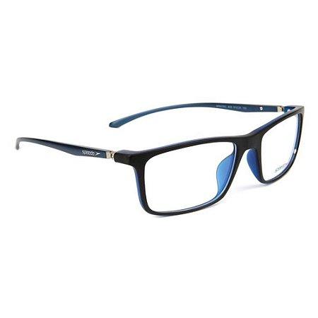 Óculos de Grau Speedo SP6079IL A03/61 Preto/Azul