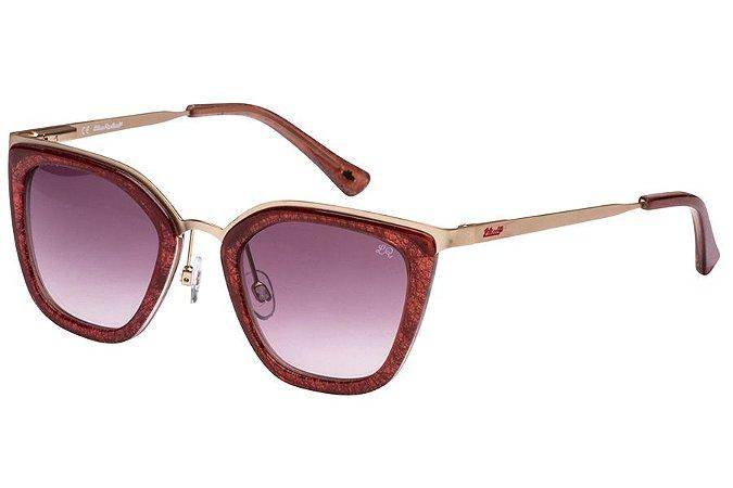 Óculos de Sol Lilica Ripilica SLR111 C05/46 Bordô