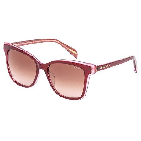 Óculos de Sol Victor Hugo SH1790 05AG/54 Vermelho
