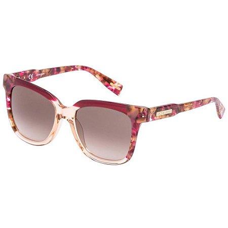 Óculos de Sol Victor Hugo SH1789 0AHL/52 Vermelho/Marrom/Tartaruga