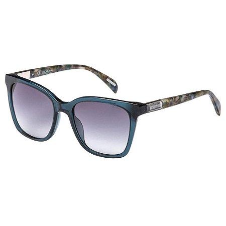 Óculos de Sol Victor Hugo SH1775 0AGQ/53 Verde Transparente