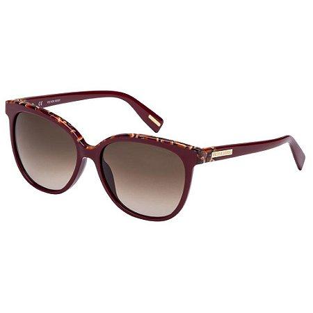 Óculos de Sol Victor Hugo SH1762 0G96/55 Bordô/Mesclado