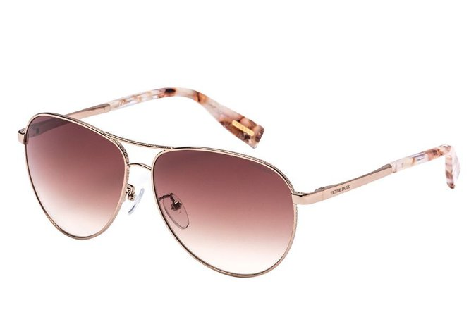 Óculos de Sol Victor Hugo SH1264 0A39/61 Dourado