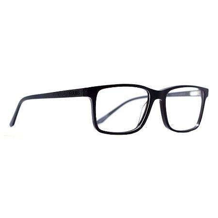 Óculos de Grau Evoke Folk 1 D01/56 Preto