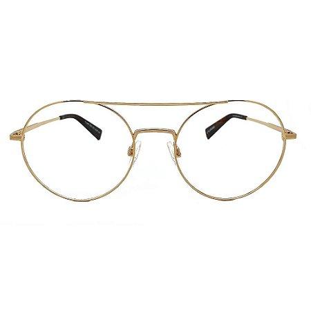 Óculos de Grau Evoke For You DX59 04A/53 Dourado