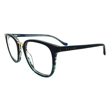 Óculos de Grau Evoke For You DX33 H01/51 Azul