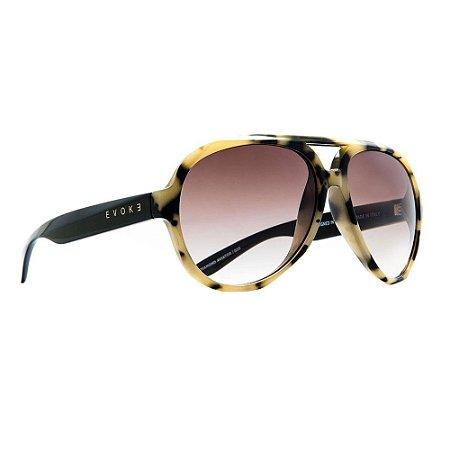 Óculos de Sol Evoke Diamond Aviator G23/59 Tartaruga