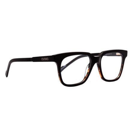 Óculos de Grau Evoke Clip On Square H01/52 Preto