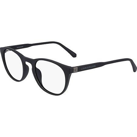 Óculos de Grau Calvin Klein Jeans CKJ20511 001/50 Preto Fosco