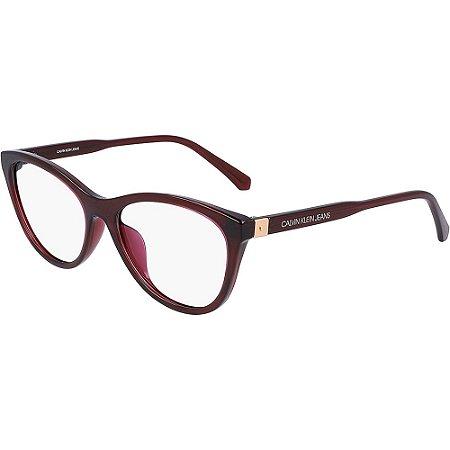 Óculos de Grau Calvin Klein Jeans CKJ20510 645/53 Vermelho Transparente