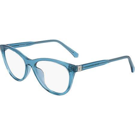 Óculos de Grau Calvin Klein Jeans CKJ20510 450/53 Azul Transparente