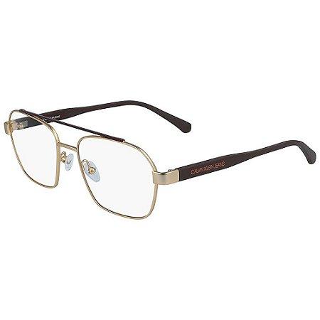 Óculos de Grau Calvin Klein Jeans CKJ19301 717/53 Dourado