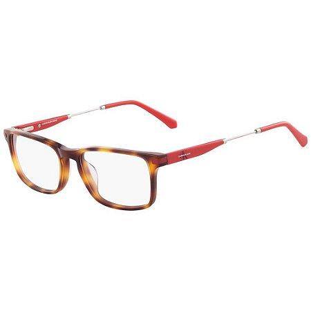 Óculos de Grau Calvin Klein Jeans CKJ18707 240/54 Tartaruga