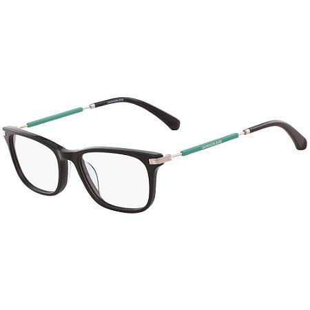 Óculos de Grau Calvin Klein Jeans CKJ18705 001/51 Preto