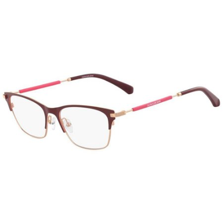 Óculos de Grau Calvin Klein Jeans CKJ18105 603/52 Bordô