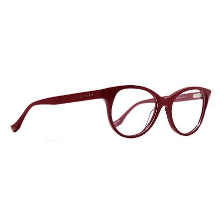 Óculos de Grau Evoke Awake 3 D01/52 Vermelho