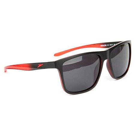 Óculos de Sol Speedo Avalon H01/58 Preto/Vermelho - Polarizado