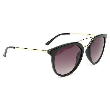 Óculos de Sol Atitude AT5431 A01/53 Preto/Dourado