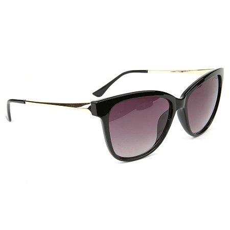 Óculos de Sol Atitude AT5422 A01/55 Preto/Dourado