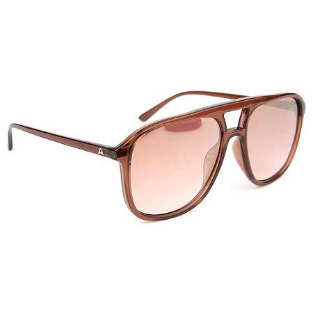 Óculos de Sol Atitude AT5413 T02/58 Marrom Transparente