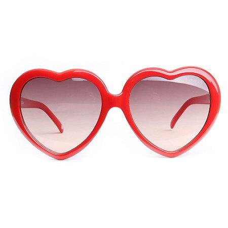 Óculos de Sol Atitude AT5237 D01/56 Vermelho