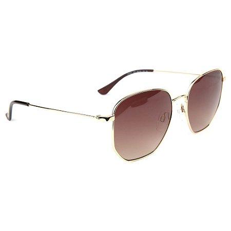 Óculos de Sol Atitude AT3254 04C/55 Dourado