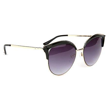 Óculos de Sol Atitude AT3230 A01/55 Preto/Dourado