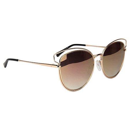 Óculos de Sol Atitude AT3180 04B/56 Dourado