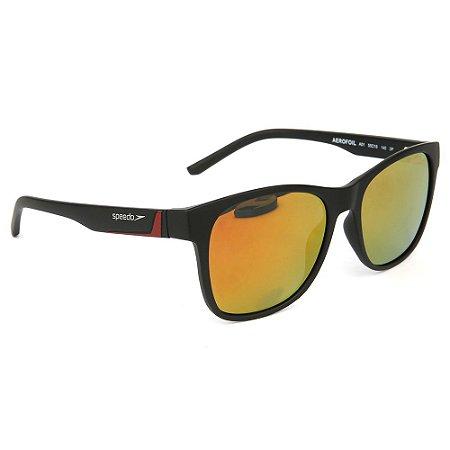 Óculos de Sol Speedo Aerofoil A01/55 Preto - Polarizado
