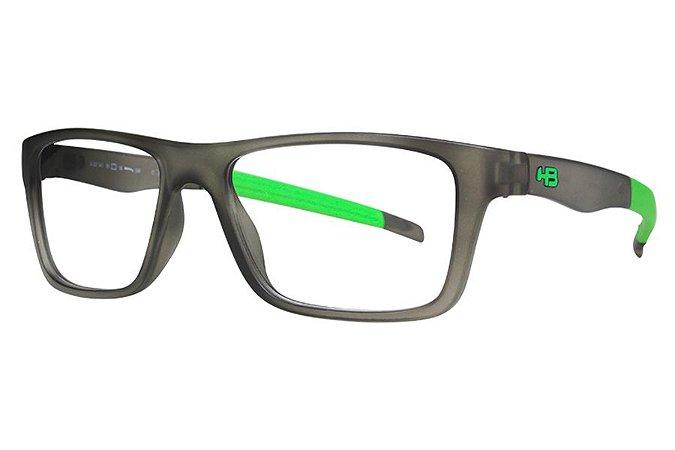 Óculos de Grau HB 93141/50 Cinza Fosco