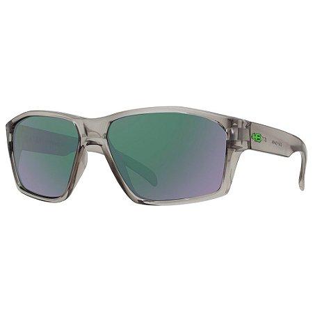 Óculos de Sol HB Stab/59 Cinza - Lente Verde Espelhado
