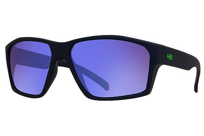 Óculos de Sol HB Stab/59 Azul - Lente Azul Espelhado