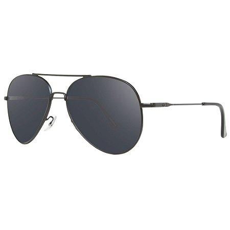 Óculos de Sol HB Racer/55 Preto - Lente Cinza