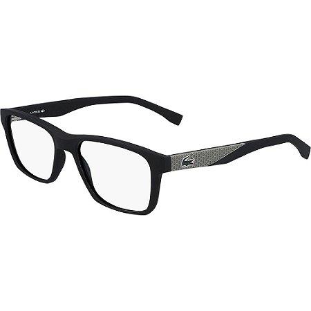 Óculos de Grau Lacoste L2862 001/54 Preto Fosco