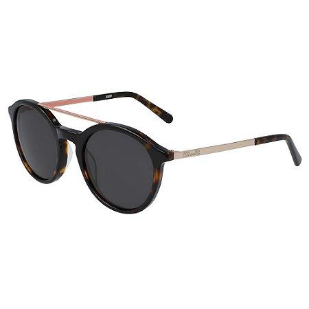 Óculos de Sol Diane Von Furstenberg DVF853S DANIELLE 237/50 Tartaruga - Redondo
