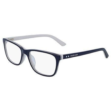 Óculos de Grau Calvin Klein CK19510 416/54 - Cinza