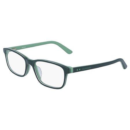 Óculos de Grau Calvin Klein CK19507 308/53 - Verde