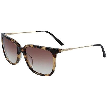 Óculos de Sol Calvin Klein CK19702S 244/55 Tartaruga Marrom