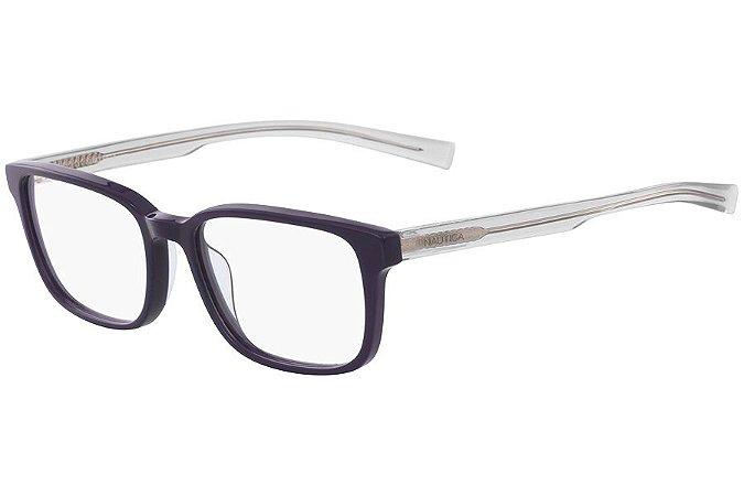 Óculos de Grau Nautica N8144 410/55 Azul/Transparente