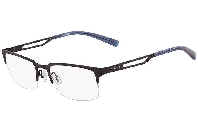 Óculos de Grau Nautica N7290 005/55 Preto Fosco