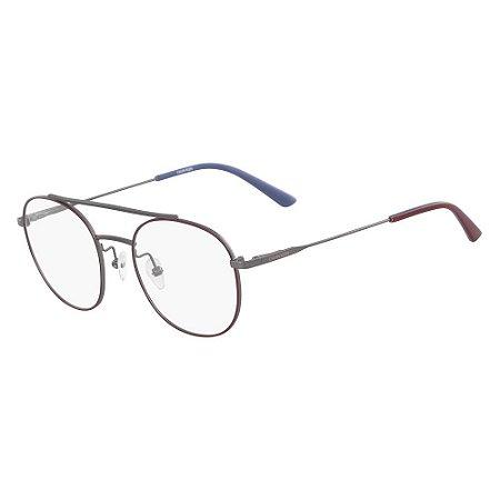 Óculos de Grau Calvin Klein CK18123 601/50 - Vermelho