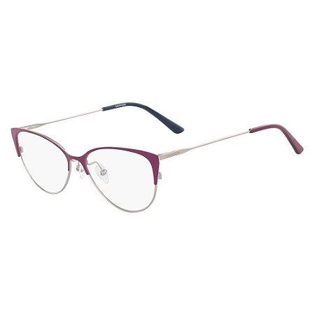 Óculos de Grau Calvin Klein CK18120 511/53 - Roxo
