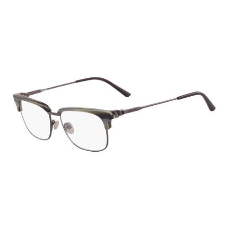 Óculos de Grau Calvin Klein CK18124 018/52 Verde Rajado