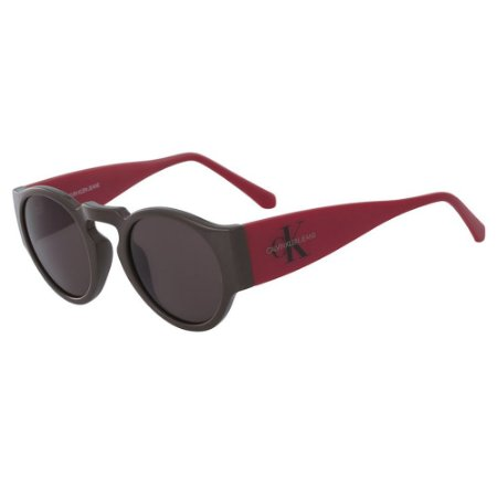 Óculos de Sol Calvin Klein Jeans CKJ18500S 201/47 Marrom/Vermelho