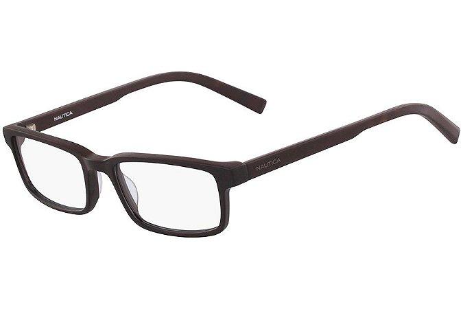 Óculos de Grau Nautica N8146 005/53 Preto Fosco