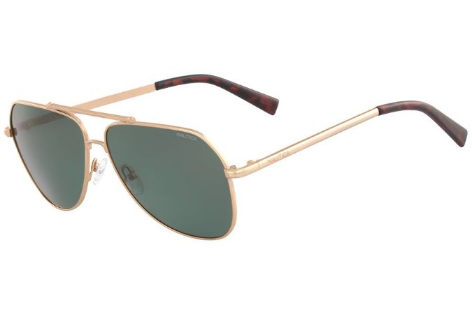 Óculos de Sol Nautica N4636SP 712/60 Dourado - Polarizado