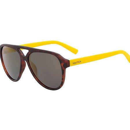 Óculos de Sol Nautica N3632SP 420/58 Tartaruga/Amarelo